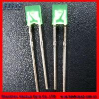 Buy cheap High Intensity 10mm Square Blue LED Diode (RoHS) product