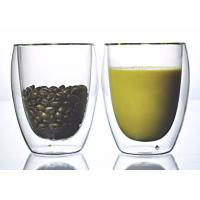 Buy cheap Double Wall Personalized Glass Cup / Custom Made Glass Cups OEM Service from wholesalers