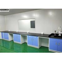 Buy cheap Steel Lab Wall Bench With Corrosion Resistant Worktop In Pharmaceutical Company from wholesalers