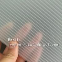 Buy cheap High quality 3d lenticular pattern corrugated hard plastic acrylic sheet from wholesalers