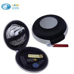 Buy cheap Headphone Headside Hard Eva Case MP3 Earphone Pocket Storage Bag With Mesh Black from wholesalers