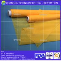 Buy cheap Polyester silk screen printing mesh fabric 200 mesh count(80T)/Screen printing mesh from wholesalers