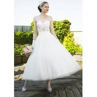 Buy cheap NEW!!! Short wedding dress Lace Bridal gown #dq4961 from wholesalers