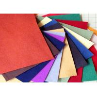 Buy cheap 100% Viscose Material Red Polyester Felt Fabric Heavy Duty Wiping Rags Colorful product