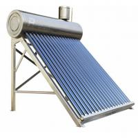 Buy cheap stainless steel non-pressurized solar hot water system from wholesalers