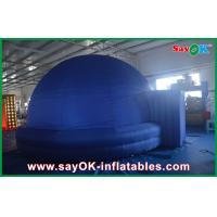 Buy cheap Dia 5m Blue Inflatable Planetarium Dome Tent Watching Movie Use from wholesalers