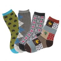 Buy cheap Knitted soft custom color, design classic Patterned Kid Socks from wholesalers