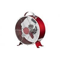 9 Inch Quiet Retro Electric Fan , 2 Speed Decorative Metal Desk Fan