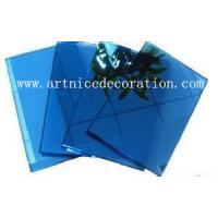 Buy cheap 4mm to 8mm dark blue float glass with CE and ISO high quality , dark blue float glass from wholesalers