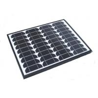Buy cheap 60 Watt Black Frame Monocrystalline Solar Panels For 12v Battery Charger Off Grid from wholesalers