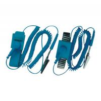 Buy cheap Professional Electrical Equipment ESD Wrist Strap With Wire , Rubber And Alloy Material from wholesalers