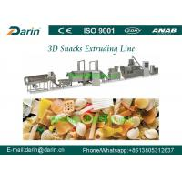 Buy cheap Bugles 3D Snack Pellet Machinery Low Energy For Macaroni Pasta Food from wholesalers