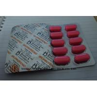 Buy cheap Pink Ibuprofen Tablets 200mg / 400mg / 600mg Medical Tablets  Moderate Pain Flu Medicine from wholesalers