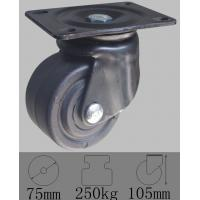 Buy cheap Low profile caster with swivel plated mounted,3x2 PO wheel-industrial caster from wholesalers