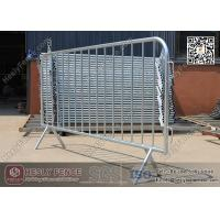 Buy cheap 1.1 X 2.2m Claw Feet Crowd Barrier (China Factory) | Galvanised Steel Pedestrian Barricade from wholesalers