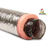 Buy cheap Air conditioning Fire Resistant Insulated Aluminum Flexible Ducting , Insulated Vent Ducting from wholesalers
