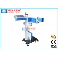 Buy cheap 20w Date Code Fiber Laser Printing Machine On Plastic Pet Bottle from wholesalers