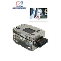 Buy cheap High Security Motorized IC Card Reader Writer , Smart Chip Card Reader For Kiosk Terminals from wholesalers