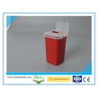 Buy cheap 1L  medical disposable sharps container from wholesalers