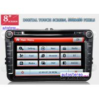 Buy cheap HD Auto DVD Car Stereo and Sat Nav for VOLKSWAGEN Golf Polo 8 Inch from Wholesalers
