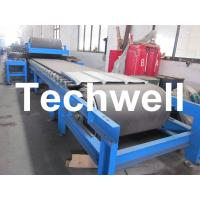 Buy cheap Continuous Rubber Belt Conveyor PU Sandwich Panel Roll Forming Machine from wholesalers