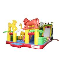 Buy cheap Elephant Style Kids Inflatable Slide Attractive Vivid Hand Painting High Airtight from wholesalers