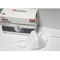 Buy cheap Anti Dust FFP2 Face Mask Disposable Earloop Face Mask Non Irritating from wholesalers