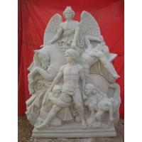 Buy cheap white marble sculpture from wholesalers