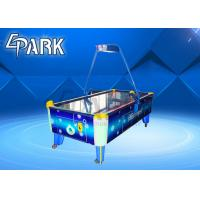 Buy cheap Blue Classic Coin Operated Arcade Machines Indoor Sport Game / Air Hockey Table from wholesalers