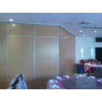 Buy cheap Melamine Surface Operable Sliding Doors / Folding Room Dividers for Hotel from wholesalers