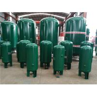Buy cheap 400 Gallon Vertical Industrial Compressed Air Receiver Tanks High Temperature Resistant product
