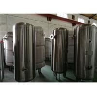 Buy cheap 80 Gallon Stainless Steel Compressor Air / Gas Storage Tanks 1.0MPa Pressure from wholesalers