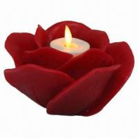 Buy cheap LED Candle Tea Light with Real Wax and Plastic, Timing Function and Chargeable Feature, CE/RoHS Mark from wholesalers