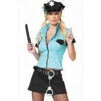 Buy cheap Police Officer Frisk Me Costume Adult Costumes for Carnival Christmas Halloween from wholesalers