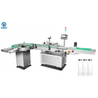Buy cheap 300/Min Round Bottle Vertical Cosmetic Labeling Machine from wholesalers