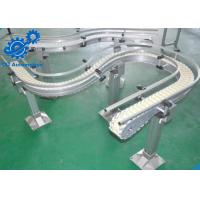 Buy cheap Plastic Slat Automated Conveyor Systems , Packaging Conveyor Systems from wholesalers