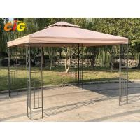 Buy cheap Outdoor Modern Steel Frame Gazebo Tent Taupe Colour With Polyester Cover product