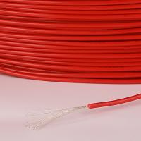 China Red Color Cross Linked Polyethylene Wire 80℃ Temperature Rating 0.25mm Insulation Thickness on sale