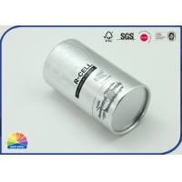 Buy cheap Silver Stamping Food Supplement Waterproof Sealed Paper Tube Box from wholesalers
