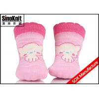 Buy cheap Gerber Pink Infant Cute Cartoon Baby Boy Socks / Baby Girl Socks Anti-Bacterial from wholesalers