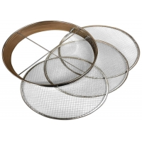 Buy cheap AISI SUS 304 100Mesh 3mm sieving Stainless Steel Filter Screen from wholesalers