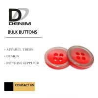 China Clothes, Polyesters Button & Accessories Bulk Apparel Colorful on sale