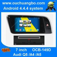 Buy cheap Ouchuangbo Audi Q5 Audi A4 Audi A5 gps radio navi Frequency 1.66GMHZ 3G WIFI anroid 4.4 from wholesalers