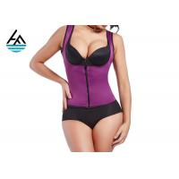 Buy cheap Durable XL Neoprene Slimming Suits Women's Sauna Shirt Screen Printing from wholesalers