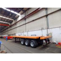 Buy cheap 40 foot 20ft shipping container flatbed trailers for sale from CIMC from wholesalers