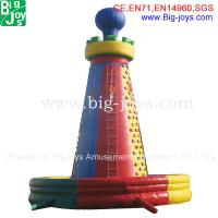 Buy cheap inflatable climbing wall, inflatable rock climbing wall, inflatable climber, from wholesalers