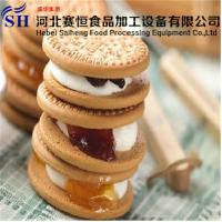 Buy cheap Commercial oven bakery Sandwiching Biscuits Making Machines Price from wholesalers