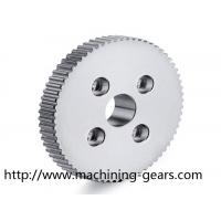 Buy cheap High Fatigue Resistance Metal Spur Gear 20 Degree Pressure Angle from wholesalers