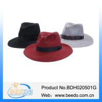 Buy cheap 100% wool fashion floppy wide brim bailey billy hat from wholesalers