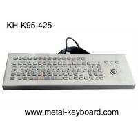 Buy cheap SS Desktop PC Ruggedized Keyboard 95 Keys USB Connection Plug 5 Years Lifespan from wholesalers